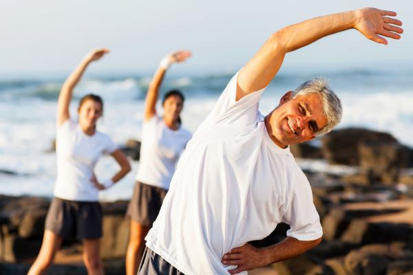More exercise is better for healthy aging