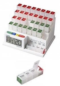 MedCenter Pill Organizer and Alarm