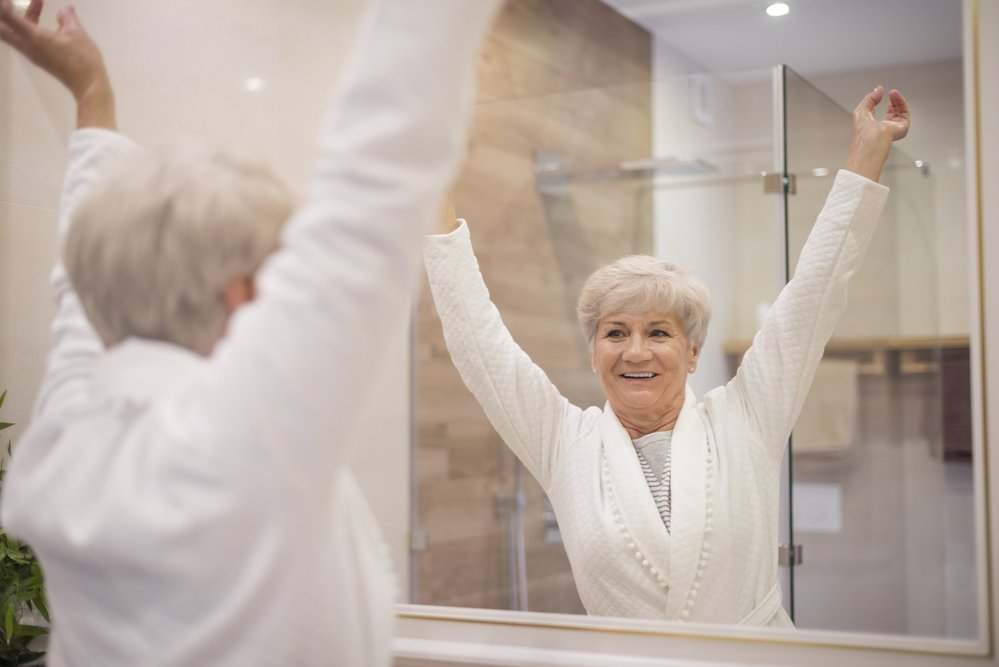 Safe bathroom design for seniors
