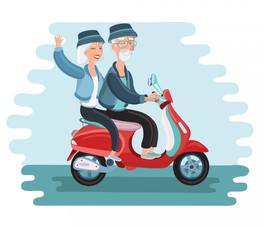 safe senior travelling