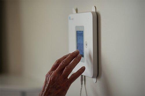 Walabot Home Fall Detection