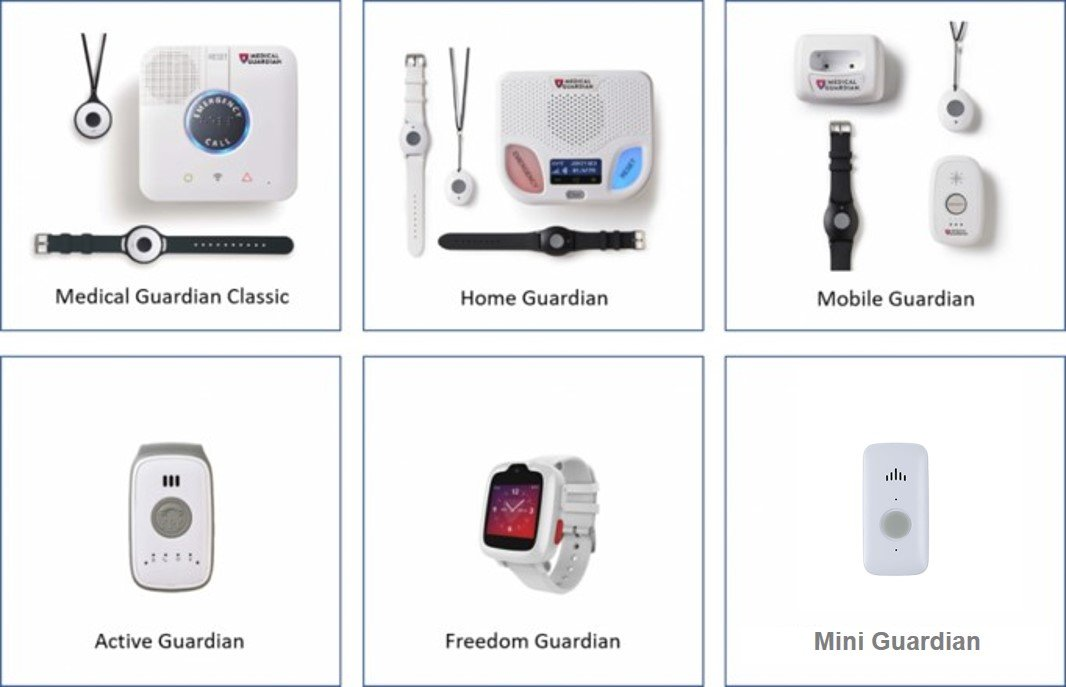 Medical Guardian Products Updated